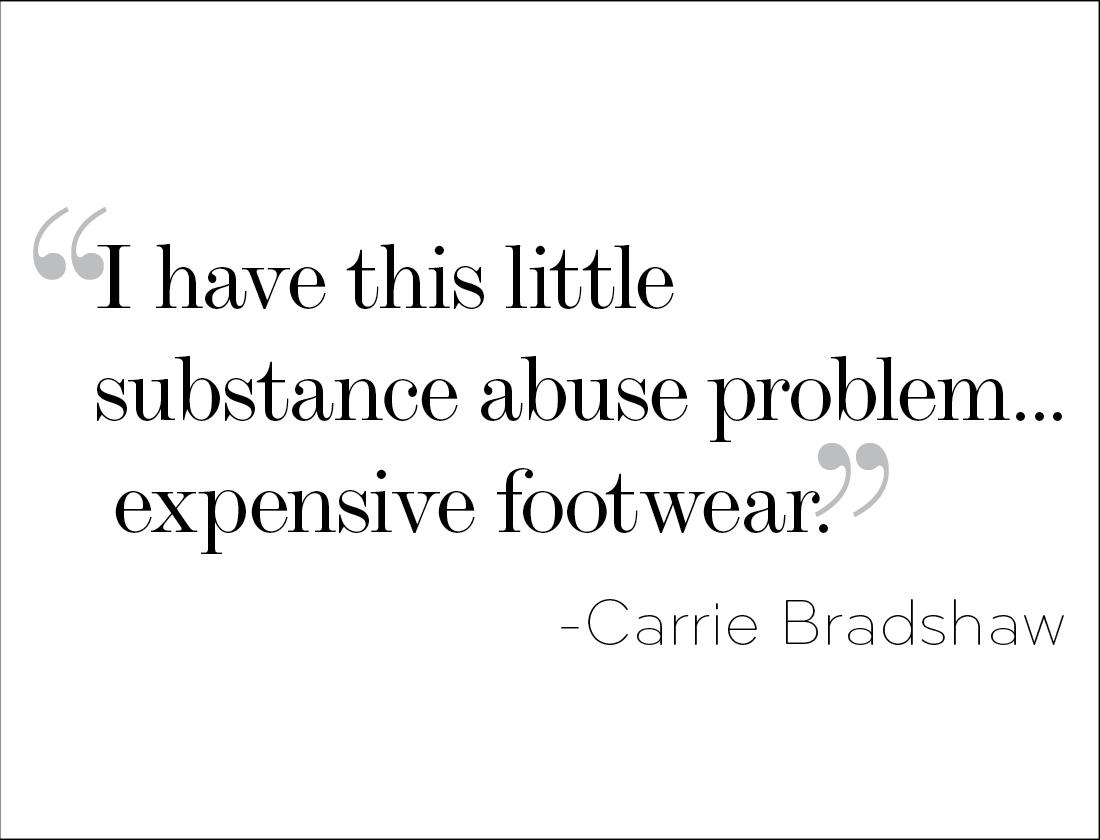 addiction shoes